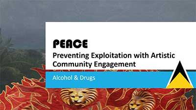 PEACE - slide