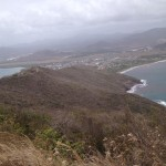 View from Mon Repos in Vieux Fort area
