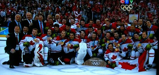 Gold Medal in Sochi